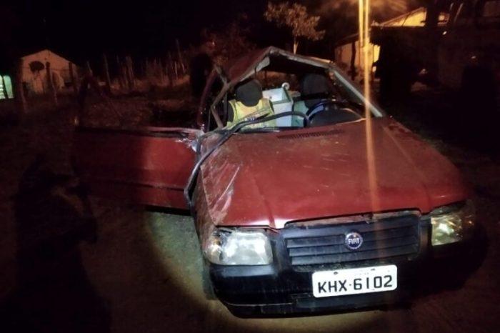 Acidente deixa uma pessoa morta e três feridos em estrada na região do Cariri paraibano