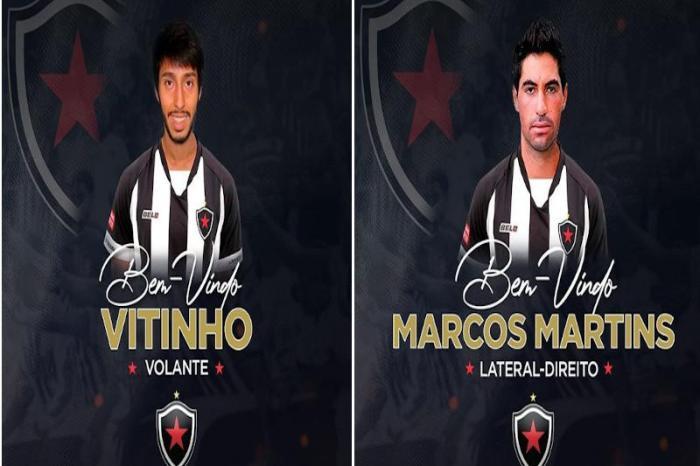 Botafogo-PB oficializa três reforços para sequência da Série C