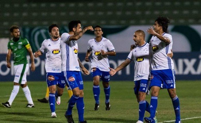 Cruzeiro vence o Guarani de virada por 3 a 2 pela Série B do Brasileiro
