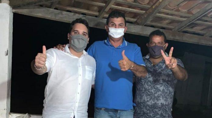 Em Alcantil, grupo da oposição recebe apoio do deputado estadual Doda de Tião