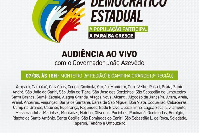 Prefeita Anna Lorena convida monteirenses para acompanhar e participar do Orçamento Democrático 2020
