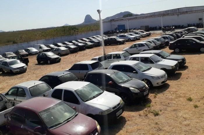 Polícia Rodoviária Federal faz leilão virtual com 647 veículos