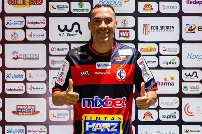 Campinense contrata meia Aleff Diego por empréstimo