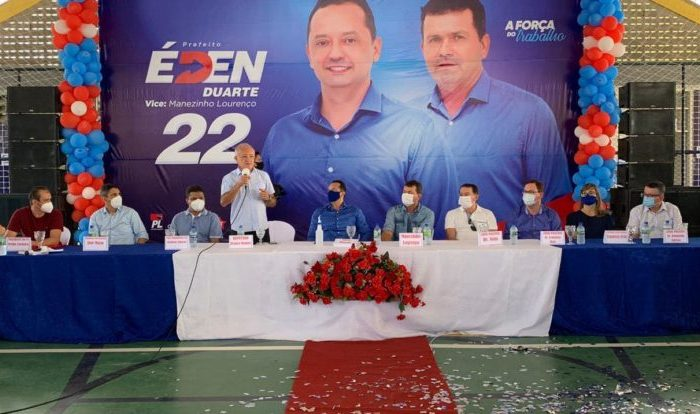 Em Sumé, Éden Duarte é oficializado candidato a prefeito na manhã deste sábado