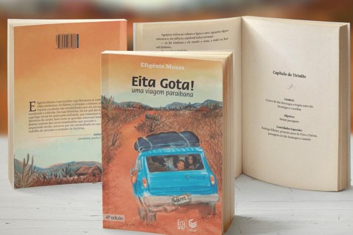 Escritor Efigênio Moura publica quarta edição do seu primeiro livro