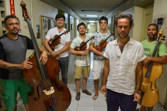 Quinteto da Paraíba participa de live com Marcelo Jeneci