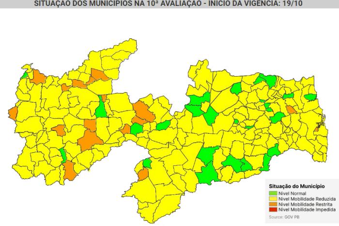 Covid-19: Zabelê e São João do Tigre perdem bandeira verde em nova avaliação