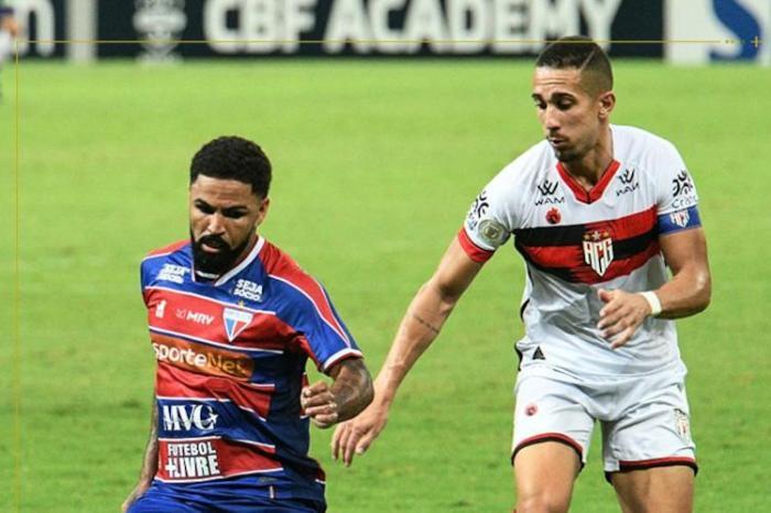 Fortaleza e Atlético-GO ficam no empate na Arena Castelão