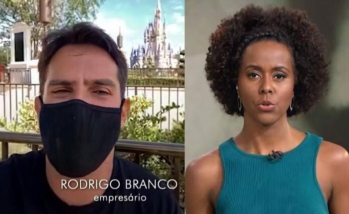 Reportagem com Rodrigo Branco no Fantástico causa revolta
