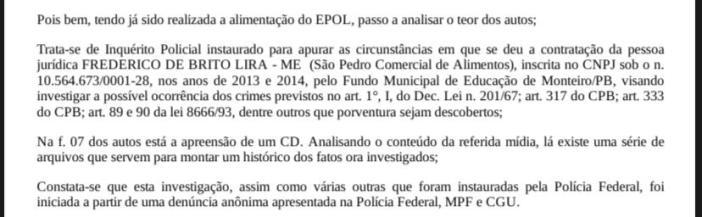 WhatsApp-Image-2020-11-09-at-14.08.58 ESCANDÂLO: Polícia Federal investiga contratos realizados na gestão de Edna Henrique, em Monteiro