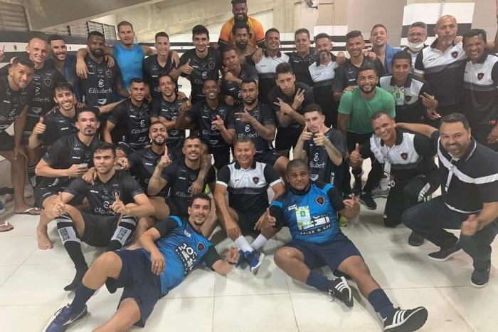 Retorno de Piza devolve calmaria e injeta confiança no Botafogo-PB