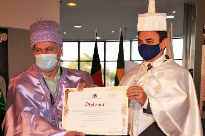 Lourdes Ramalho recebe título de Doutora Honoris Causa pela UEPB