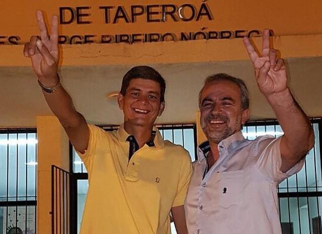 Em Taperoá, George desbanca atual prefeito e quebra hegemonia de 16 anos do mesmo grupo no poder