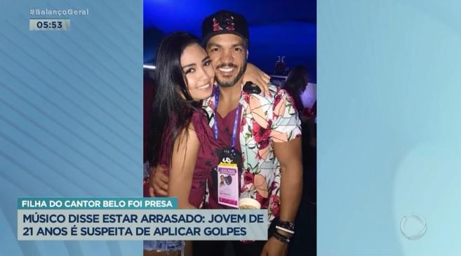 Filha do cantor Belo é presa suspeita de aplicar golpe milionário