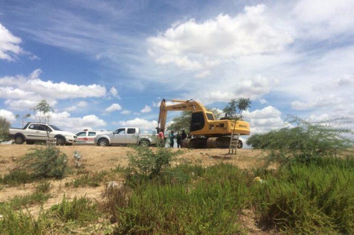 Polícia Militar deflagra operação contra extração irregular de minério em cidade do Cariri