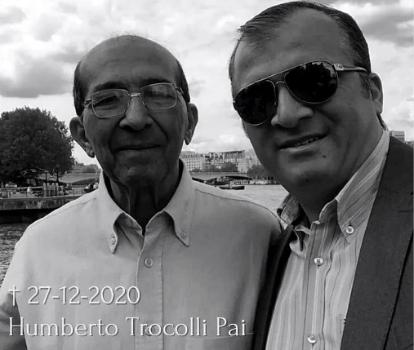 Morre Humberto Trocolli, pai do deputado estadual Trocolli Júnior