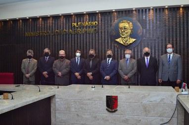 Fernando Catão é eleito para presidir TCE-PB no biênio 2021/2022