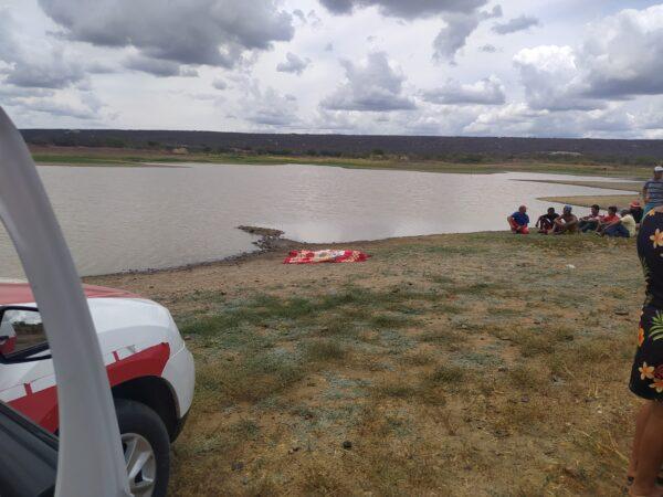 Adolescente morre afogado ao mergulhar em açude no Cariri na tarde desta quarta-feira