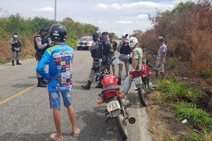 Polícia Militar monta operação e intercepta 'grupo de rolezinho', no Sertão da PB