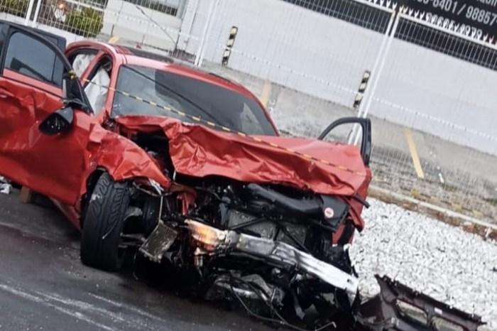 Motorista de BMW é preso após fugir da polícia, bater em carro e causar morte de condutor em João Pessoa