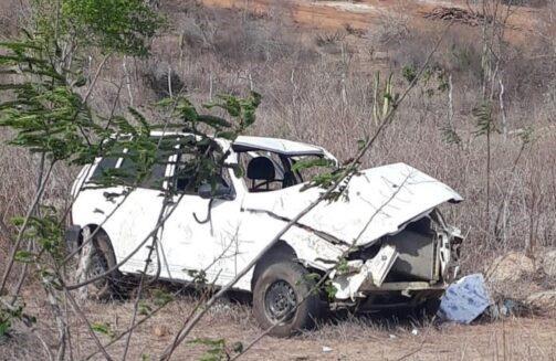 Veículo capota e criança de 7 anos morre, na região do Cariri
