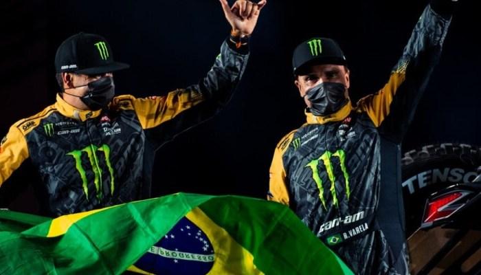 Com dobradinha da Can-Am, Brasil começa Dakar 2021 na frente