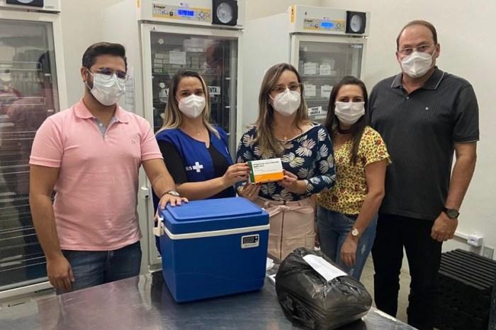 Município de Sumé recebe vacinas e imunização contra o coronavírus inicia nesta quarta
