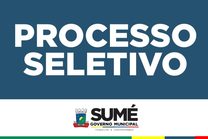 Prefeitura Municipal de Sumé abre Processo Seletivo para contratação de médico
