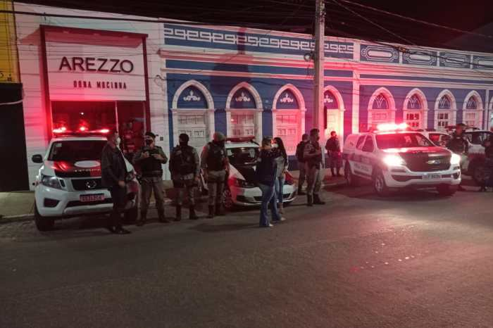 Vigilância Sanitária, Polícia Militar e Corpo de Bombeiros, realizam fiscalização em Monteiro