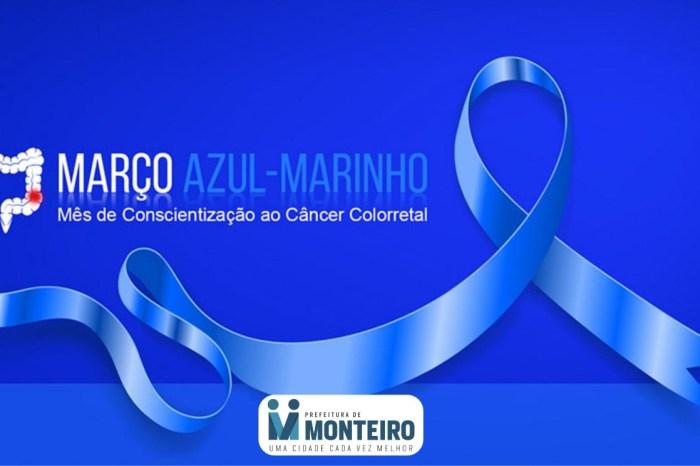 Março Azul-Marinho: Saúde de Monteiro destaca o combate ao Câncer Colorretal
