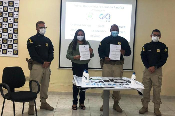 Seduc de Monteiro e PRF estão novamente em parceria para Educação e Segurança no Trânsito