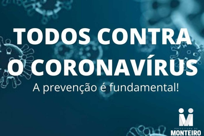 No combate ao Covid-19, equipe da Secretaria de Saúde de Monteiro realiza ações em feiras