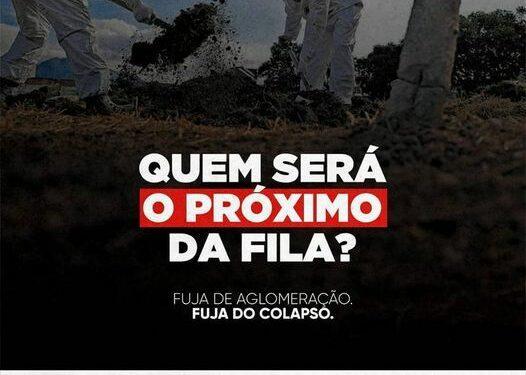 Prefeitura de Ouro Velho lança campanha contra aglomerações para combater avanço da pandemia