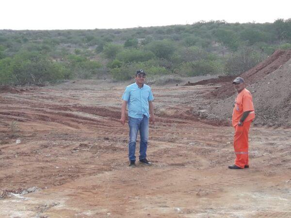 DER-PB inicia obras de recuperação da PB-148 em São João do Cariri