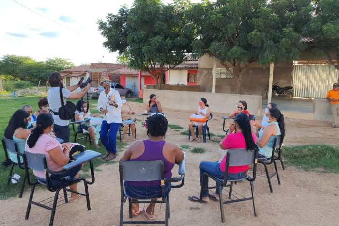 DESTAQUE: Equipe de TV produz matéria sobre Renda Renascença em Monteiro
