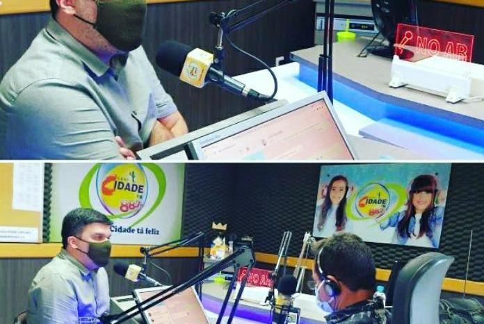 Prefeito de Ouro Velho faz balanço dos 100 dias de gestão em entrevista a Rádio de Tabira