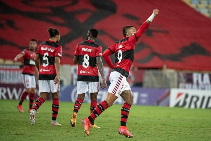 Flamengo vence Unión La Calera e mantém liderança do Grupo G da Libertadores