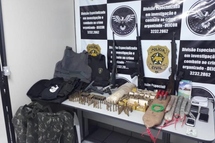 Polícia Civil prende assaltantes de bancos suspeitos de ações criminosas no Cariri