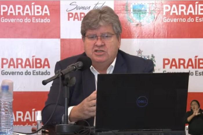 """MOÍDOS DA REDAÇÃO: """"Conclusão equivocada"""", diz João sobre ilação de subprocuradora que apontou aumento de mortes por decisões de governadores"""