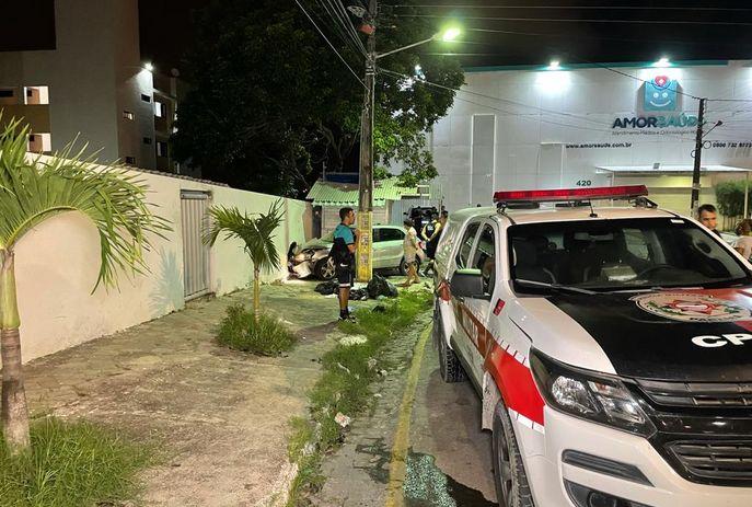 VEJA O VÍDEO: Perseguição com troca de tiros assusta moradores da zona sul de João Pessoa; suspeito é preso