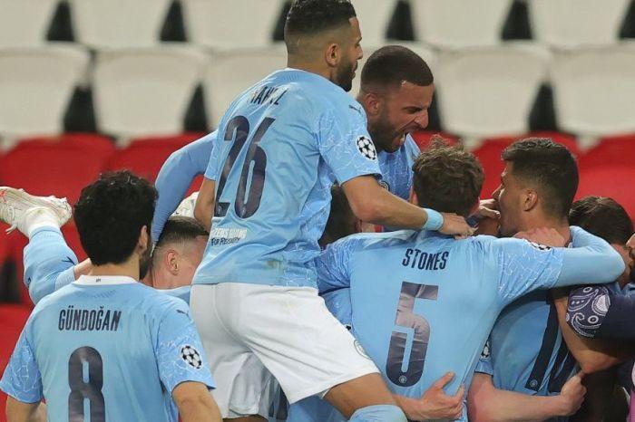 City vira o jogo e sai da frente do PSG na semifinal da champions