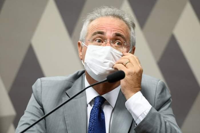 """Renan Calheiros diz que há """" tentativa de obstrução"""" da CPI da Covid pelo Governo Bolsonaro"""