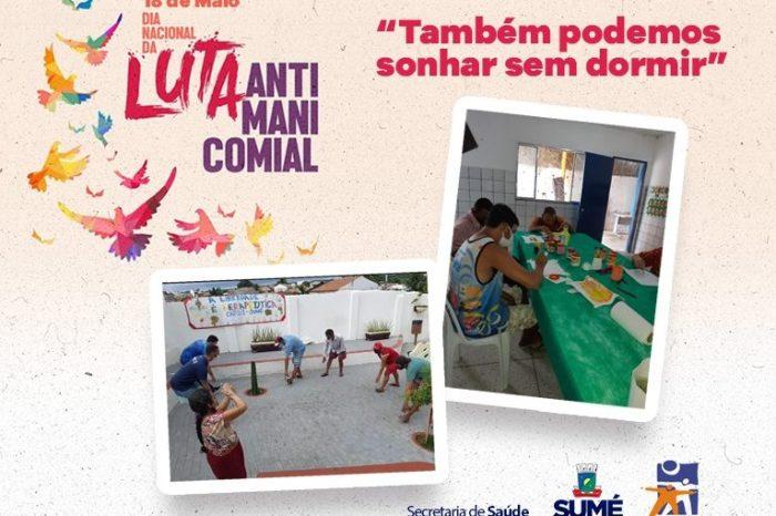 CAPS de Sumé participa da campanha Luta Antimanicomial 2021