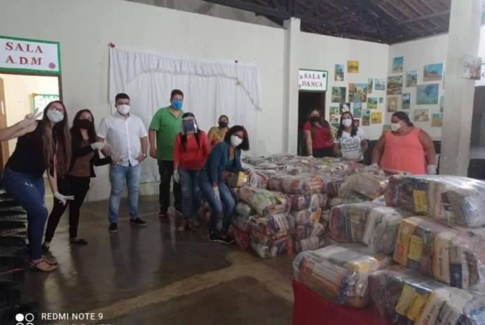 Prefeitura de Ouro Velho continua com programa de entrega de cestas básicas em meio à pandemia