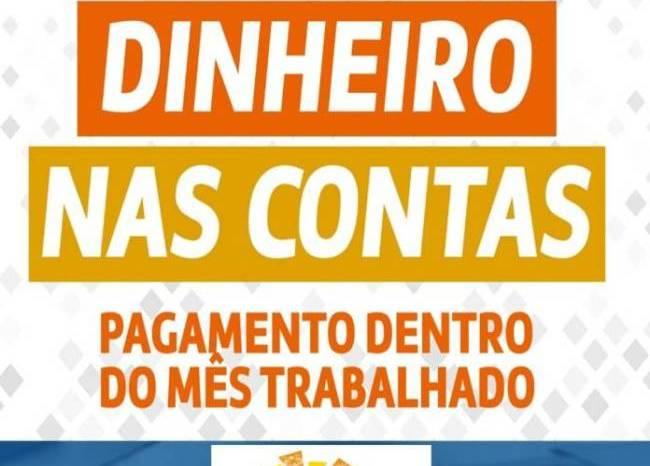 Prefeitura de São João do Tigre paga salário de abril dos servidores municipais