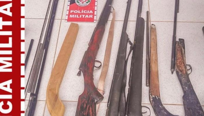 Polícia Militar prende homem por posse ilegal de arma de fogo na zona rural de Monteiro