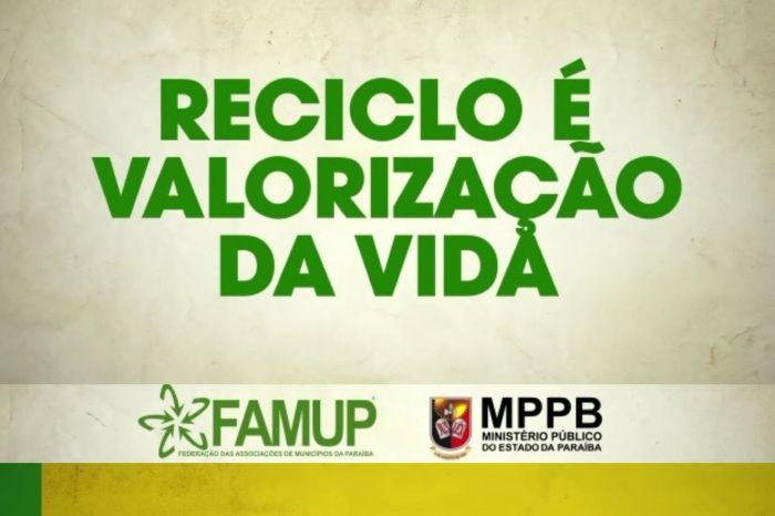 Famup convoca prefeitos e secretários dos 27 municípios que integram o projeto Reciclo para reunião