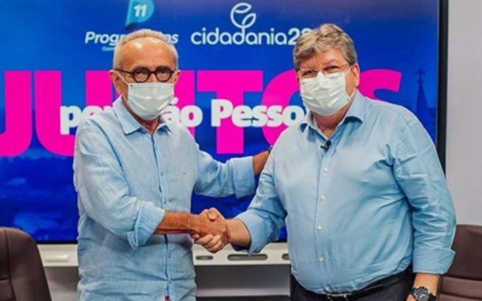 MOÍDOS DA REDAÇÃO: Cícero Lucena garante apoio à reeleição de João Azevêdo em 2022