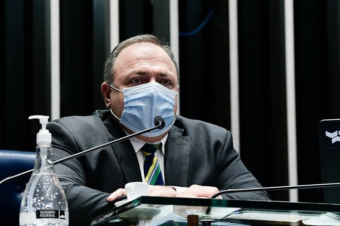 AO VIVO: CPI da Pandemia ouve Eduardo Pazuello, ex-ministro da Saúde