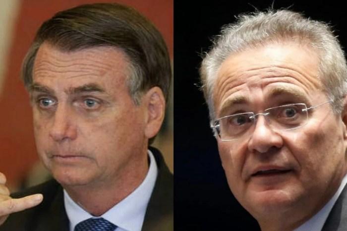 Jair Bolsonaro menospreza Renan Calheiros